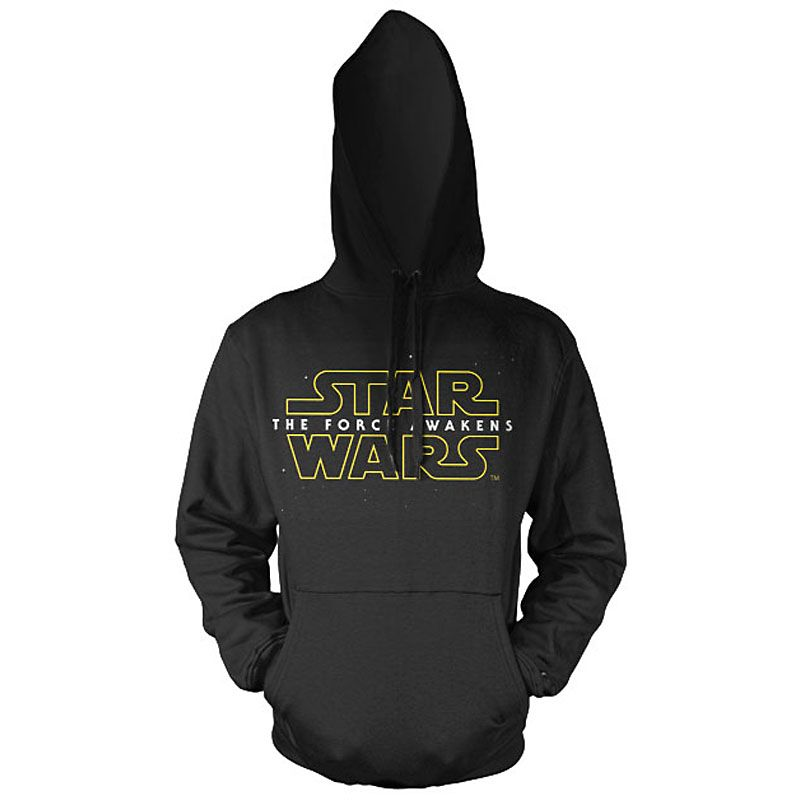 Star Wars Episode VII mikina s kapucí The Force Awakens Logo Licenced