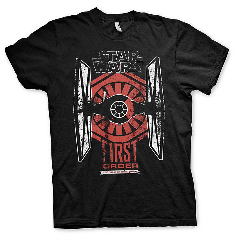 Star Wars Episode VII pánské tričko First Order Distressed Licenced