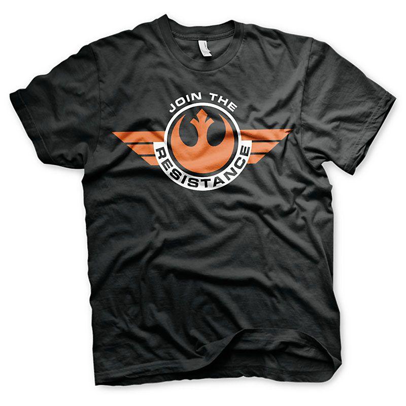 Star Wars Episode VII pánské tričko Join The Resistance Licenced