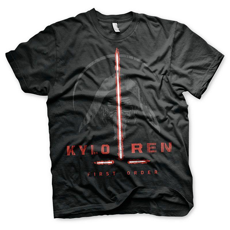 Star Wars Episode VII pánské tričko Kylo Ren First Order Licenced