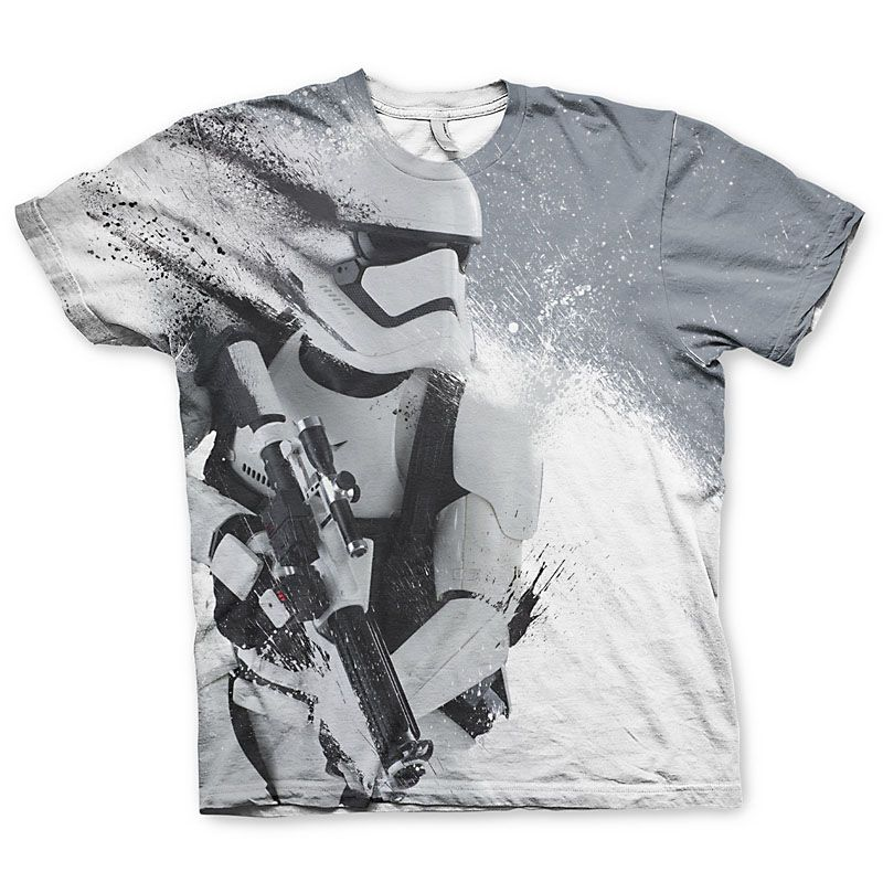 Star Wars tričko s Allover potiskem Trooper Licenced