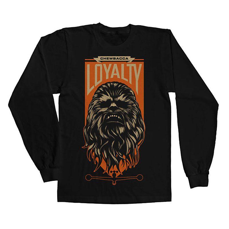 Star Wars triko s dlouhým rukávem Chewbacca Loyalty Licenced