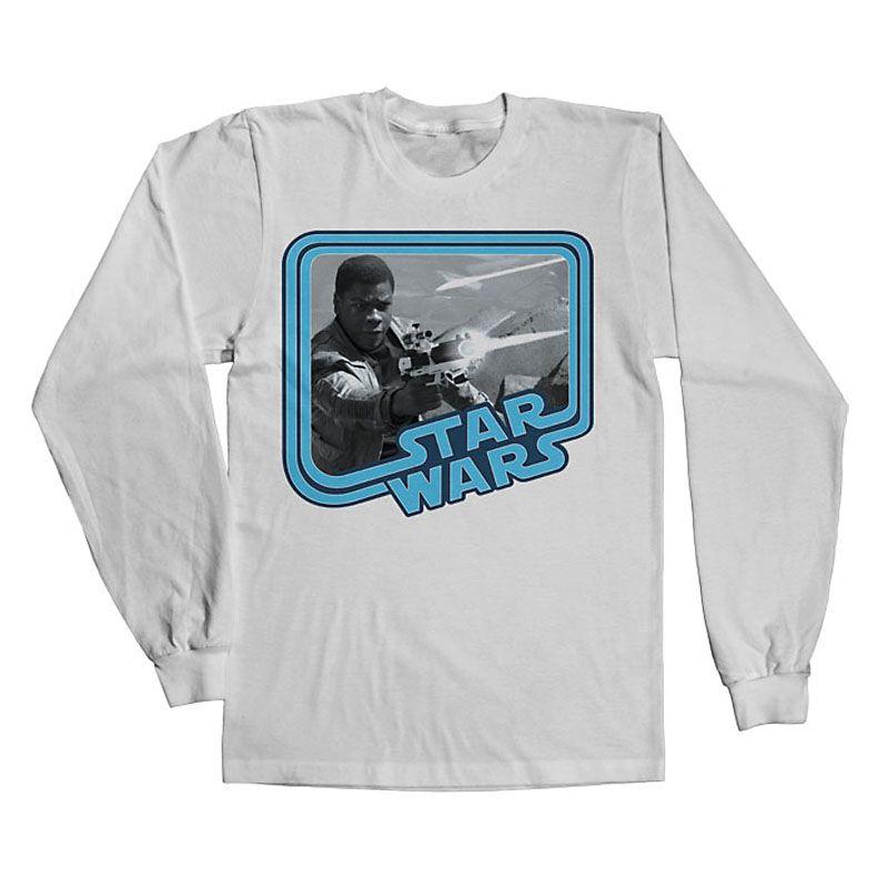Star Wars VII tričko s dlouhým rukávem Finn Licenced