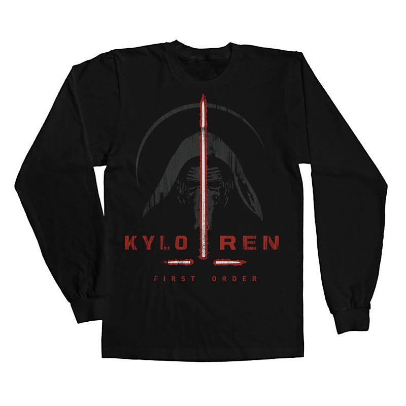 Star Wars VII triko s dlouhým rukávem First Order Licenced