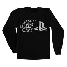 Playstation tričko s rukávem Eat Sleep Game