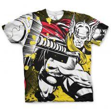 Tričko s potiskem Allover Thor Marvel Licenced