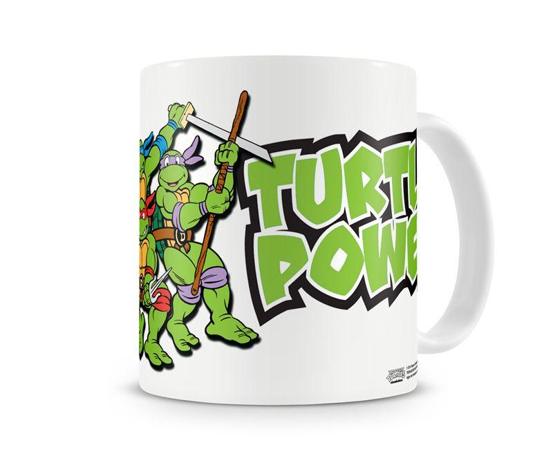 Želvy Ninja hrnek na kávu TMNT Turtle Power Licenced