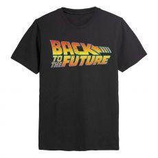 Back To The Future Tričko Logo Velikost L