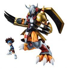 Digimon Adventure G.E.M. Series PVC Soška Wargreymon & Taichi 25 cm