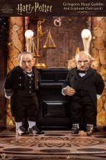 Harry Potter My Favourite Movie Akční Figures 1/6 Gringotts Head Goblin & Griphook 20 cm