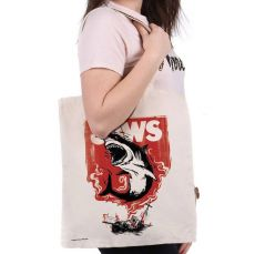 Jaws Tote Bag Fire
