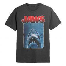 Jaws Tričko Plakát Cutout Velikost S
