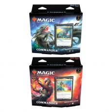 Magic the Gathering Leyendas de Commander Commander Decks Display (6) spanish Wizards of the Coast