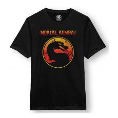 Mortal Kombat Tričko Logo Velikost XL
