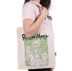 Rick and Morty Tote Bag Portal