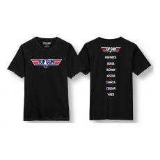 Top Gun Tričko Logo Velikost M