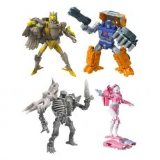 Transformers Generations War for Cybertron: Kingdom Akční Figures Deluxe 2021 W2 Sada (8)