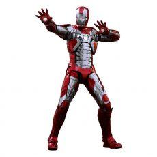 Iron Man 2 Movie Masterpiece Series Kov. Akční Figure 1/6 Iron Man Mark V 32 cm