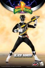 Mighty Morphin Power Rangers FigZero Akční Figure 1/6 Black Ranger 30 cm