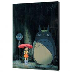 My Neighbor Totoro Wooden Nástěnná Art Totoro 35 x 50 cm