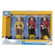 Star Trek Akční Figures 3-Pack Spock, Kirk & Khan 20 cm