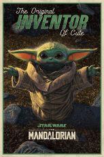Star Wars The Mandalorian Plakát Pack The Original Inventor of Cute 61 x 91 cm (5)