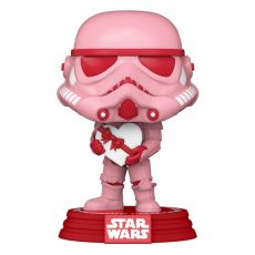Star Wars Valentines POP! Star Wars vinylová Figure Stormtrooper w/Heart 9 cm