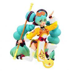 Vocaloid Noodle Stopper PVC Soška Hatsune Miku China Dress Color Variation 10 cm