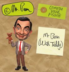 Mr. Bean Comedy Classic vinylová Figure Mr. Bean (with Teddy) 18 cm