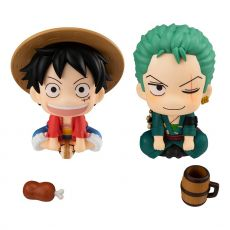 One Piece Look Up PVC Sochy Luffy & Zoro Limited Ver. 11 cm