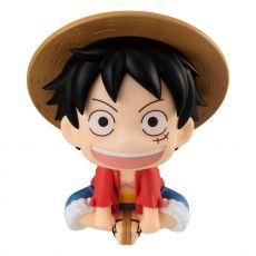 One Piece Look Up PVC Soška Monkey D. Luffy 11 cm