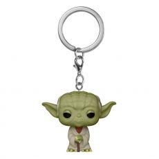 Star Wars Pocket POP! vinylová Přívěsky na klíče 4 cm Yoda Display (12)