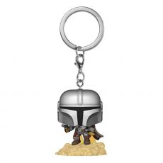 Star Wars The Mandalorian Pocket POP! vinylová Přívěsky na klíče 4 cm The Mandalorian Display (12)