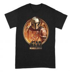 Star Wars The Mandalorian Tričko Zarámovaný Velikost S