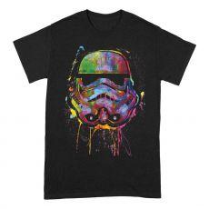 Star Wars Tričko Paint Splats Helma Velikost M