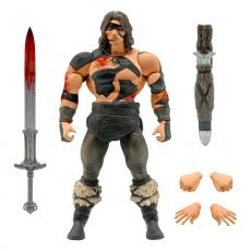 Conan the Barbarian Ultimates Akční Figure Conan War Paint Conan 18 cm