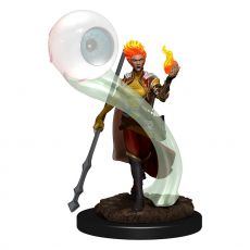 D&D Icons of the Realms Premium Miniature pre-painted Fire Genasi Wizard Female Case (6)