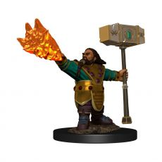 D&D Icons of the Realms Premium Miniature pre-painted Dwarf Cleric Male Case (6)