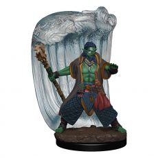 D&D Icons of the Realms Premium Miniature pre-painted Water Genasi Druid Male Case (6)