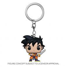 Dragon Ball Z Pocket POP! vinylová Přívěsky na klíče 4 cm Gohan w/Sword Display (12)