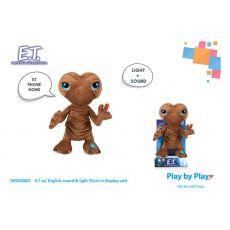 E.T. the Extra-Terrestrial Plyšák Figure with Sound & Light E.T. 25 cm Anglická Verze