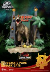Jurassic Park D-Stage PVC Diorama Park Gate 15 cm