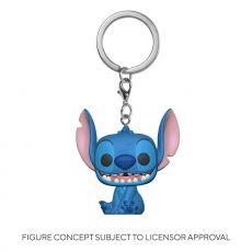 Lilo & Stitch Pocket POP! vinylová Přívěsky na klíče 4 cm Stitch Display (12)