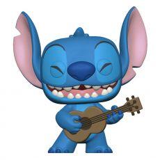 Lilo & Stitch POP! Disney vinylová Figure Stitch w/Ukelele 9 cm