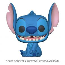 Lilo & Stitch Super Sized Jumbo POP! Games vinylová Figure Stitch 25 cm