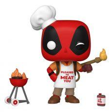 Marvel Deadpool 30th Anniversary POP! vinylová Figure Backyard Griller Deadpool 9 cm