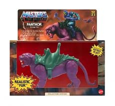 Masters of the Universe Origins Akční Figure 2021 Panthor Flocked Collectors Edition Exclusive 14cm