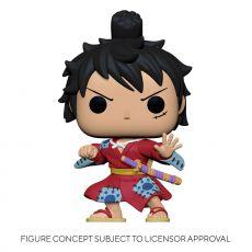 One Piece POP! Television vinylová Figure Luffy in Kimono 9 cm