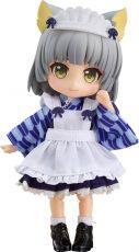 Original Character Nendoroid Doll Akční Figure Catgirl Maid: Yuki 14 cm