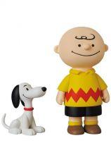 Peanuts UDF Series 12 Mini Figures 50's Snoopy & Charlie Brown 4 - 9 cm